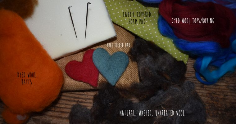 Needle Felting for Beginners – Wool and Work Surfaces
